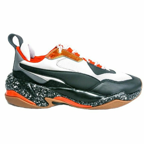Thunder Electric Orangeblack Sneaker Sz